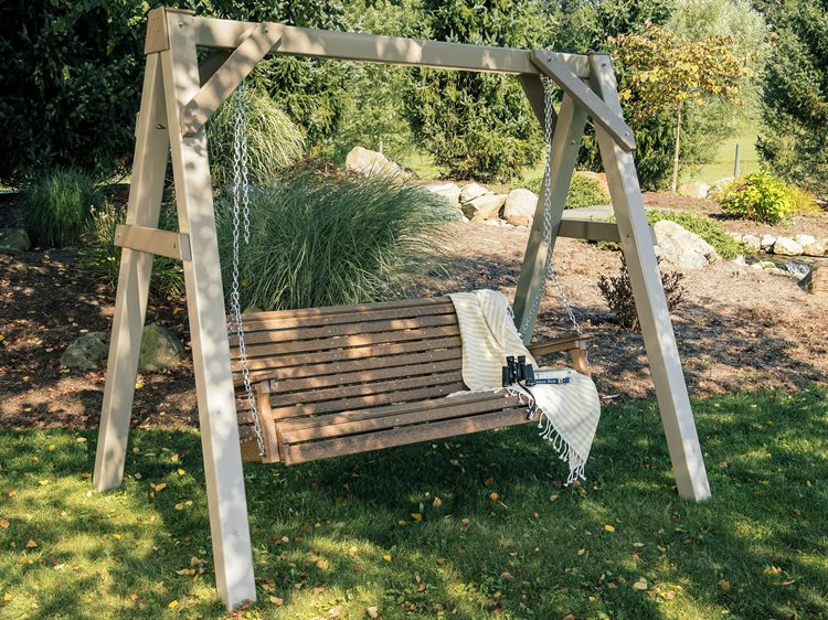 LuxCraft Plain Poly Swing Set PatioLiving