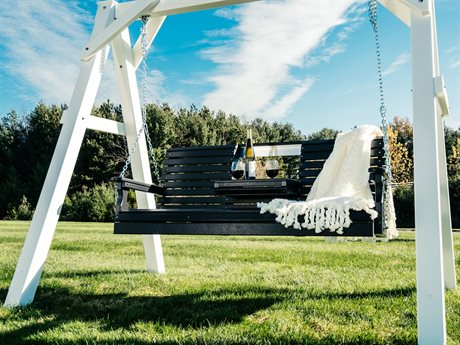 LuxCraft Plain Poly Swing Set