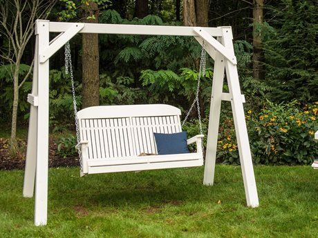 LuxCraft Recycled Plastic Swing Set