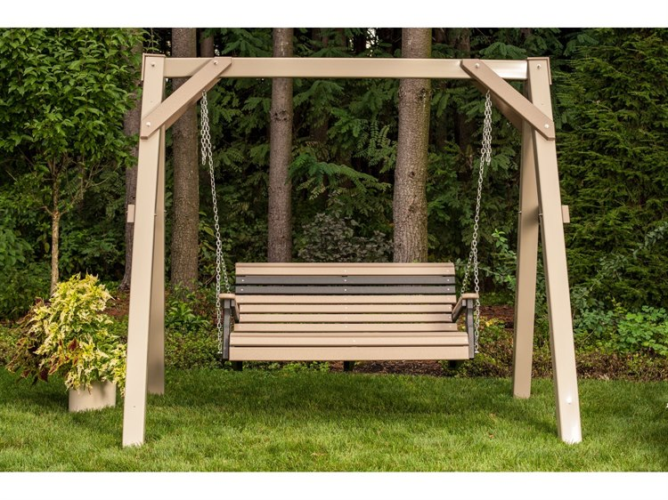 LuxCraft Recycled Plastic Swing Set PatioLiving