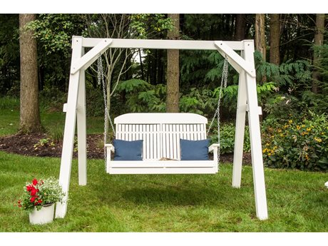 LuxCraft Recycled Plastic Swing