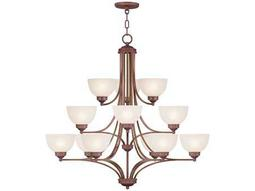 Livex Lighting Somerset Vintage Bronze 12-Light 40'' Wide Chandelier