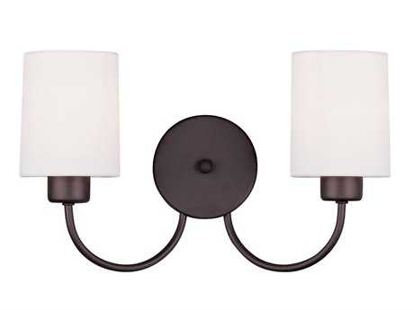 Livex Lighting Sussex Bronze Two-Light Wall Sconce