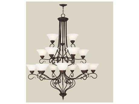 Livex Lighting Coronado Bronze 18-Light 44.5'' Wide Grand Chandelier