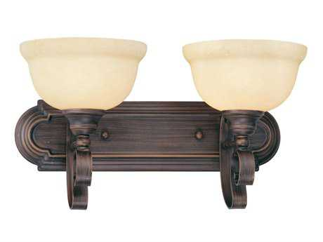 Livex Lighting Manchester Imperial Bronze Two-Light Vanity Light