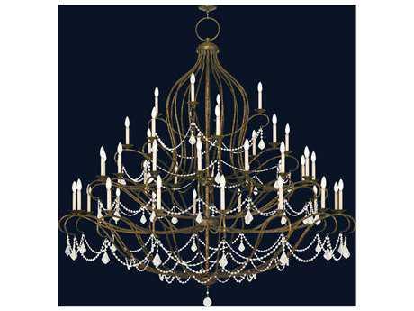 Livex Lighting Chesterfield Venetian Golden Bronze 44-Light 79.5'' Wide Chandelier