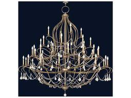 Livex Lighting Chesterfield Antique Silver Leaf 44-Light 79.5'' Wide Grand Chandelier