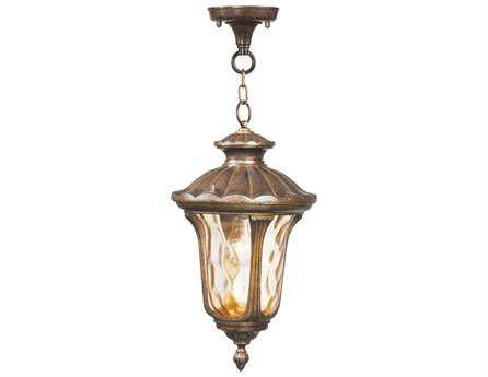 Livex Lighting Oxford Moroccan Gold Outdoor Hanging