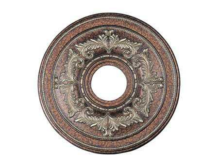 Livex Lighting Palacial Bronze 18'' Ceiling Medallion
