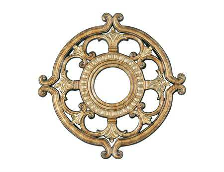 Livex Lighting Vintage Gold 18'' Ceiling Medallion
