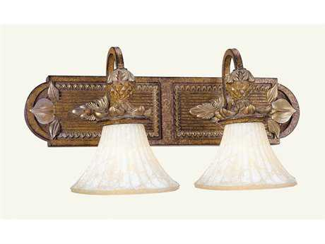 Livex Lighting Savannah Venetian Patina Two-Light Vanity Light