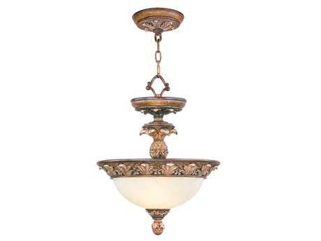 Livex Lighting Savannah Venetian Patina Two-Light 13.75'' Wide  Pendant Light