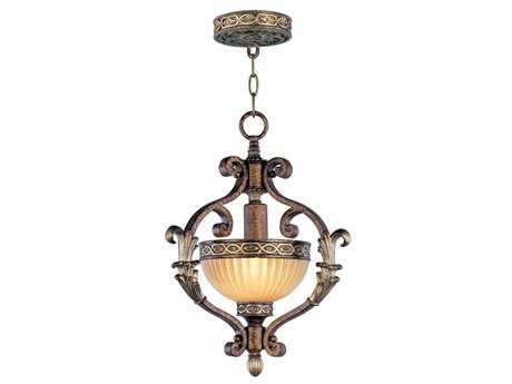 Livex Lighting Seville Palacial Bronze 13'' Wide  Pendant Light