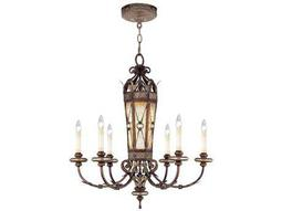 Livex Lighting Bristol Manor Palacial Bronze Six-Light 30'' Wide Chandelier