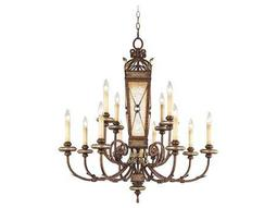 Livex Lighting Bristol Manor Palacial Bronze 12-Light 35'' Wide Chandelier