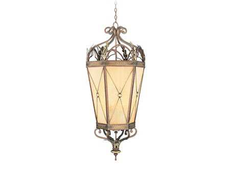 Livex Lighting Bristol Manor Palacial Bronze Six-Light 21'' Wide Pendant Light