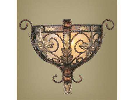 Livex Lighting Pomplano Palacial Bronze Wall Sconce