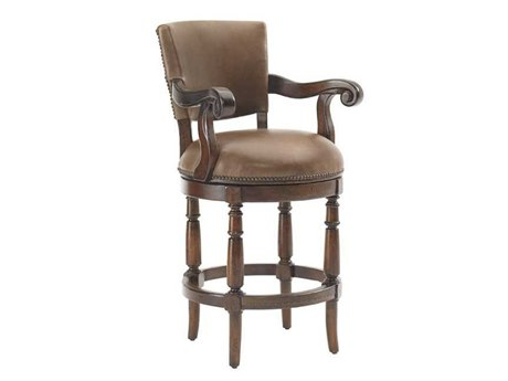 Lexington Fieldale Lodge Pinnacle Swivel Counter Stool