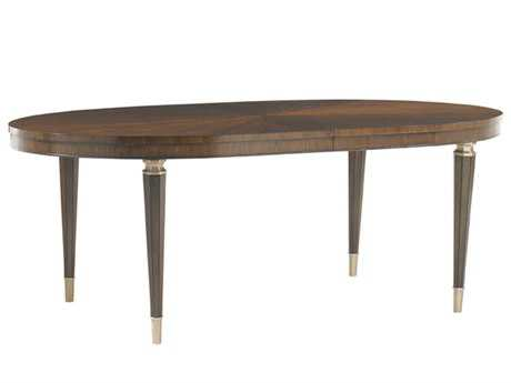 Lexington Tower Place Drake 82 x 44 Expandable Oval Dining Table