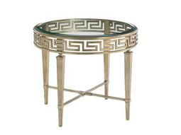 Lexington Tower Place 28.25 Round Aston Lamp Table