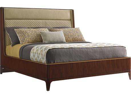 Lexington Take Five Empire Santos Rosewood King Size Platform Bed