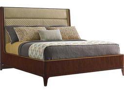 Lexington Take Five Empire Santos Rosewood California King Size Platform Bed