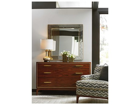 Lexington Take Five Single Dresser with Wall Mirror Set