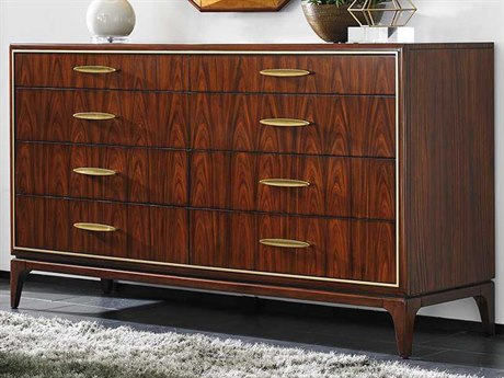 Lexington Take Five Capella Rosewood Double Dresser