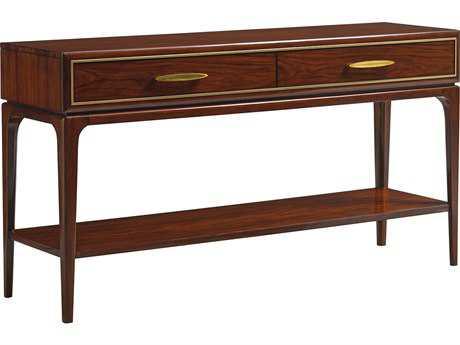 Lexington Take Five Carle Place Rosewood 64''L x 18''W Rectangular Console Table