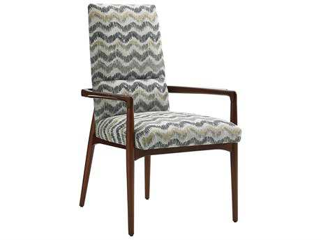 Lexington Take Five Chelsea Rosewood Dining Arm Chair