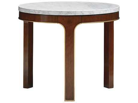 Lexington Take Five Interlude Hazelnut 28'' Wide Round End Table