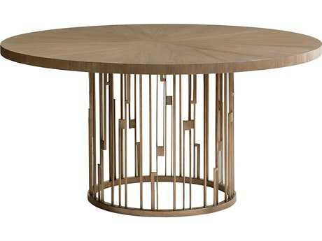 Lexington Shadow Play Rendezvous 60 Round Dining Table with Wood Top