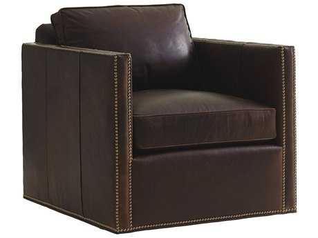 Lexington Shadow Play Hinsdale Leather Swivel Chair