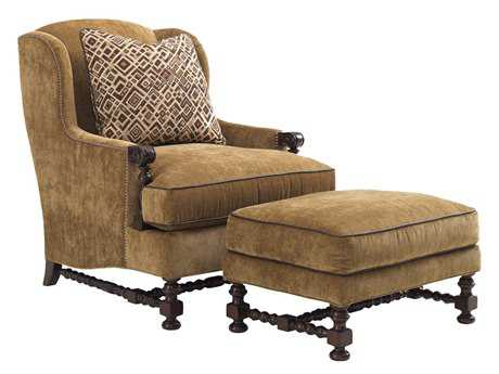 Lexington Fieldale Lodge Bradbury Wing Club Chair