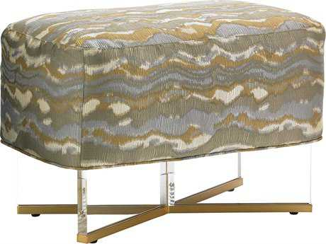 Lexington Take Five Bleeker Fabric Ottoman