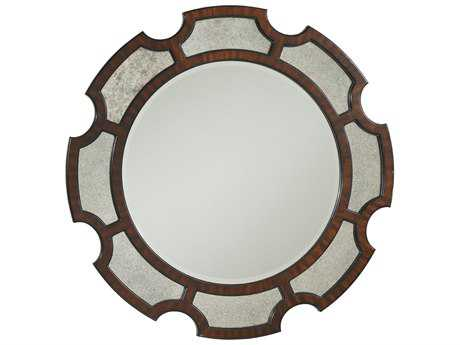 Lexington Kensington Place Oxford Brown 45 Round Del Mar Mirror