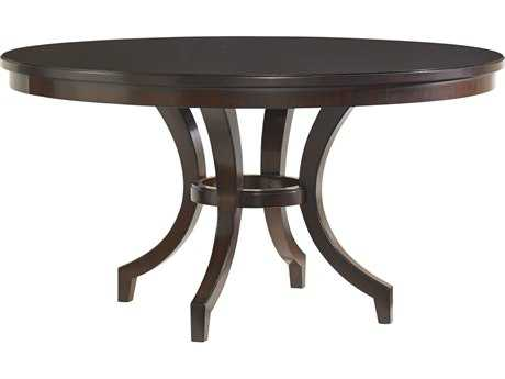 Lexington Kensington Place Oxford Brown 58'' Round Beverly Glen Dining Table
