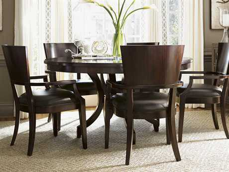 Lexington Kensington Place Oxford Brown 58'' Round Beverly Glen Dining Table