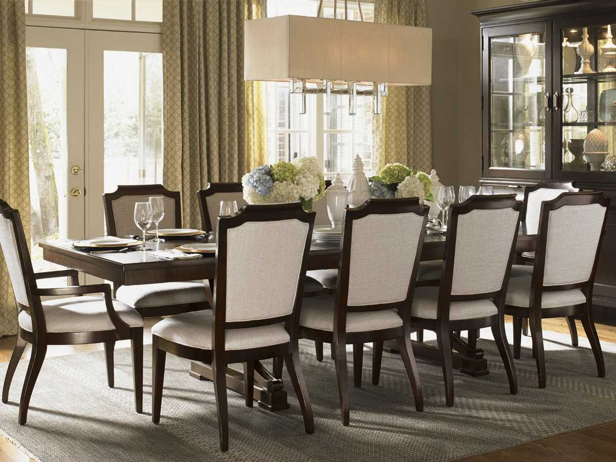 lexington kensington place dining room set lx708877set