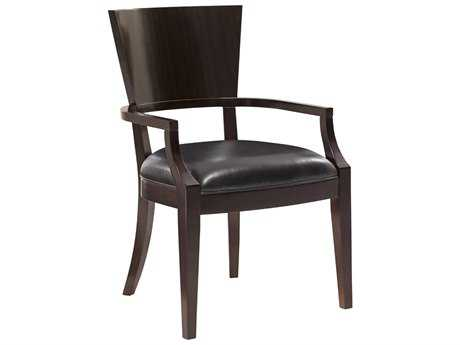 Lexington Kensington Place Oxford Brown Carson Dining Arm Chair