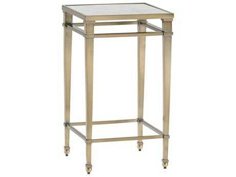 Lexington Kensington Place Oxford Brown 14'' Square Coville Metal Accent End Table