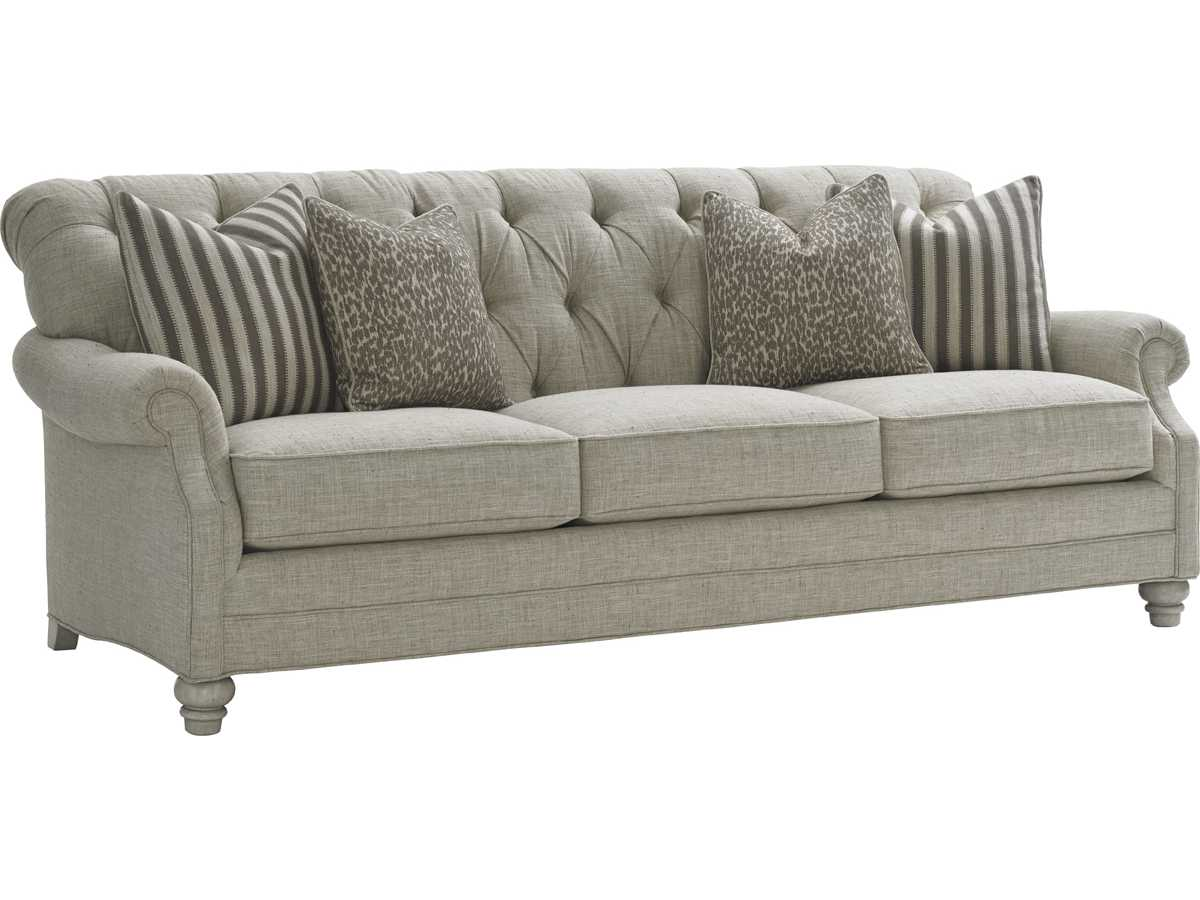 Lexington Oyster Bay Greenport Tufted Back Sofa Lx710933