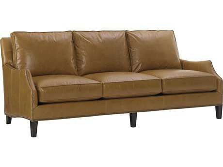 Lexington Kensington Place Ashton Leather Loose Back Sofa