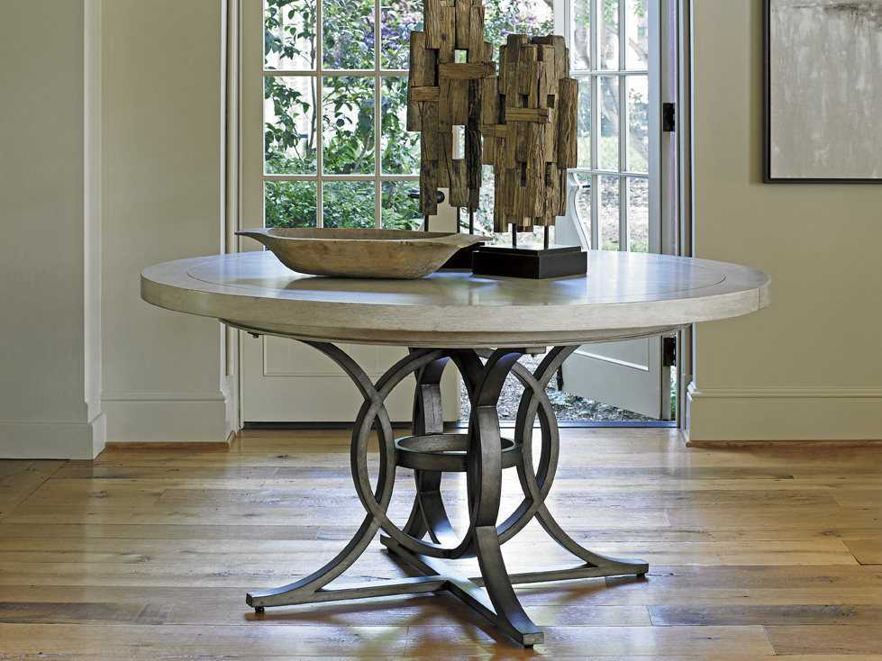 Lexington Oyster Bay 58 Round Calerton Dining Table