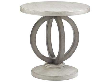 Lexington Oyster Bay 24'' Round Hewlett Side Table