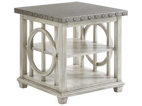 Lexington Oyster Bay 24'' Square Lewiston Lamp Table (OPEN BOX)
