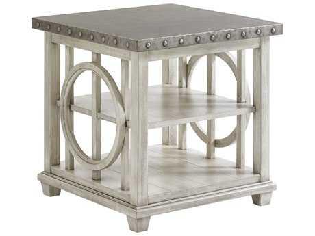 Lexington Oyster Bay 24'' Square Lewiston Lamp Table (OPEN BOX)