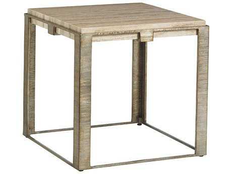 Lexington Laurel Canyon Stone Canyon 24'' Square Lamp Table