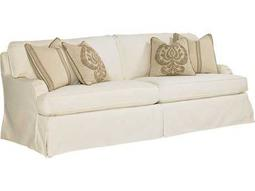 Lexington Coventry Hills Stowe Cream Slipcover Loose Back Sofa