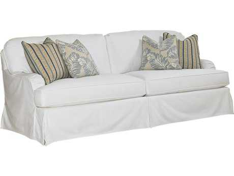 Lexington Coventry Hills Stowe White Slipcover Loose Back Sofa